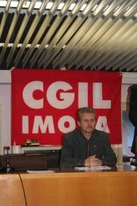 Paolo Stefani, segretario generale Cgil Imola