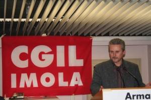 Il nuovo Segretario della Cgil di Imola, Paolo Stefani