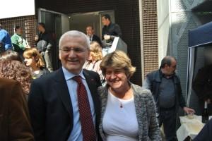 Vincenzo Colla con Susanna Camusso