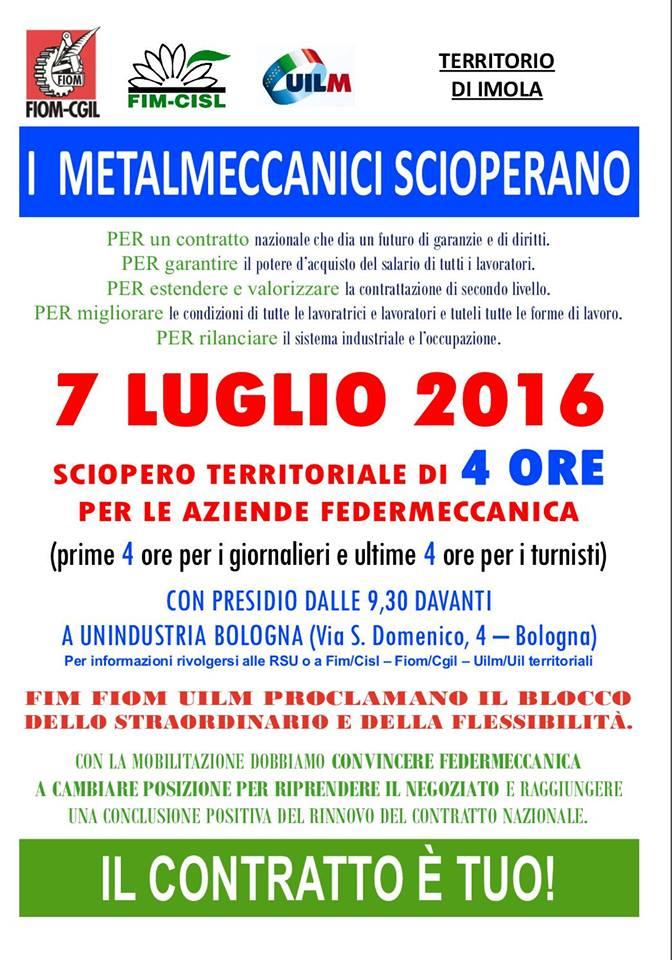 volantino sciopero metalmeccanici 7lug16